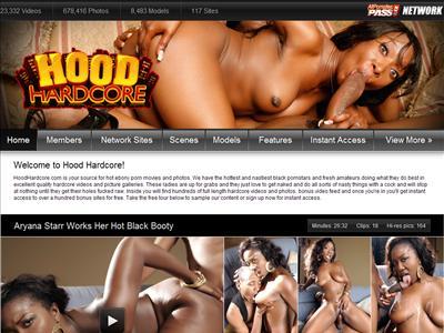 Ebony Hood sex video