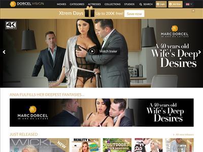 Dorcel Vision - Luxury Marc Dorcel porn movies paysite - Adult ...