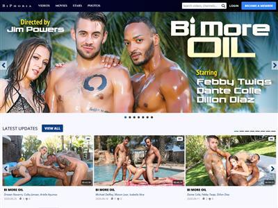 Bi Phoria - The best bisexual porn movies, MFM threesomes and ...