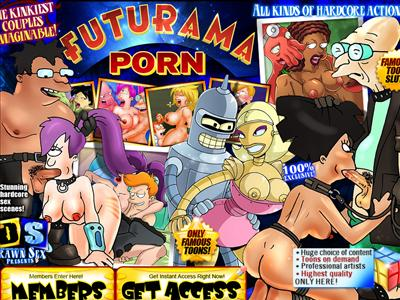 ... drawn sex scenes of top-class Futurama drawn porn that we offer.